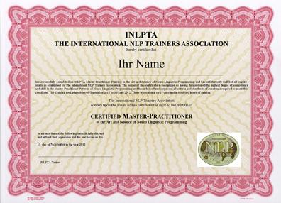 INLPTA-Master-Zertifikat
