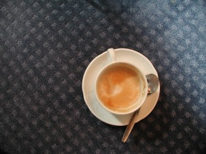 Nur eine gute Tasse Kaffee
