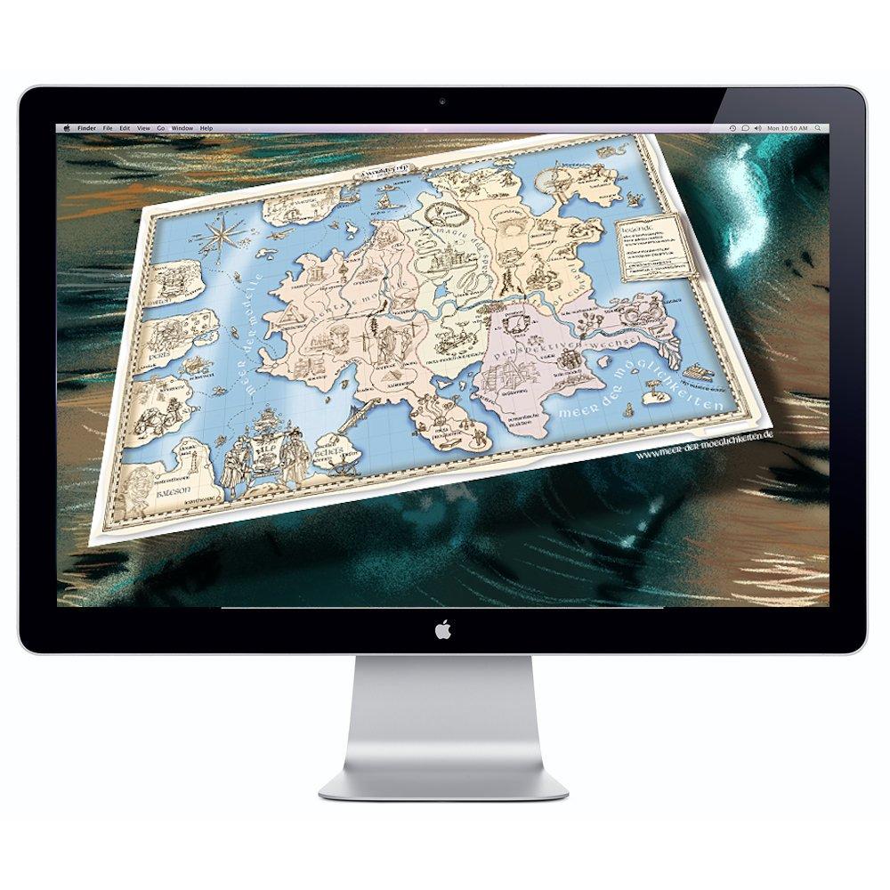 NLP-Map-on-screen